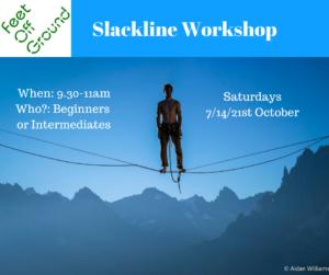 October Slackline Workshop