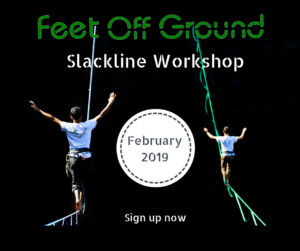 Slackline Workshop Feb 2019
