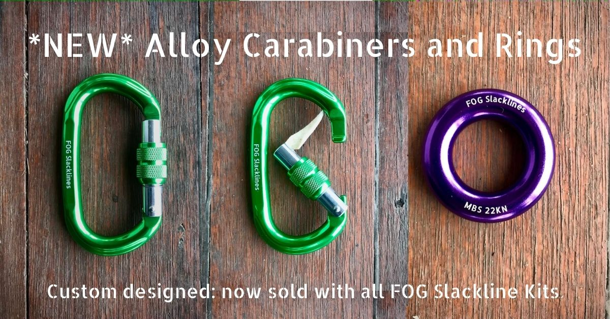 NEW Alloy Carabiners and Rings